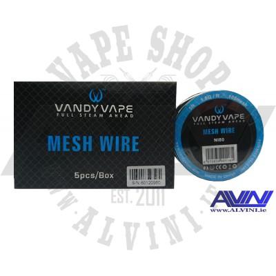 Mesh Wire Ni80 - Wire & Wicks