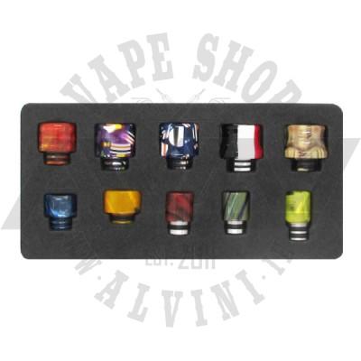 Resin Drip Tips 510 - 10 Pcs - Drip Tips