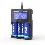 Xtar VC4 USB LCD Battery Charger