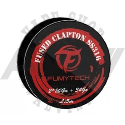 Fused Clapton Wire SS316 26x2+34GA - 5M - Wire & Wicks