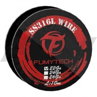 FumyTech SS316L Wire 22GA - 10M - Wire & Wicks