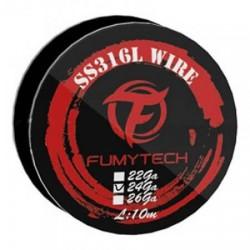SS316L Wire 24GA - 10M