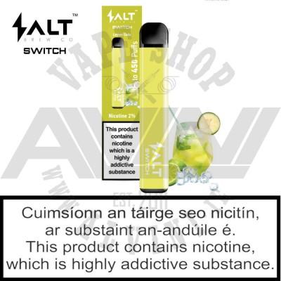 Lemon Soda - Disposable Pod - 20 mg - Salt Switch