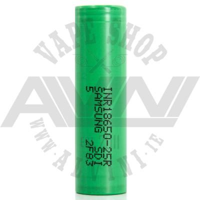 Samsung INR18650 25R 2500mAh Battery - Mod Batteries